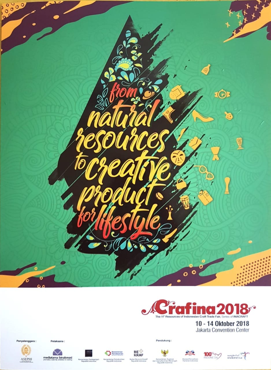 Crafina 2018 – Resources of Indonesian Craft Trade Fair image 1